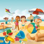 Strand Spiele